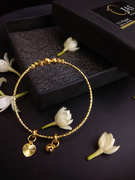 Simply Elegant Gold Plated Bracelet