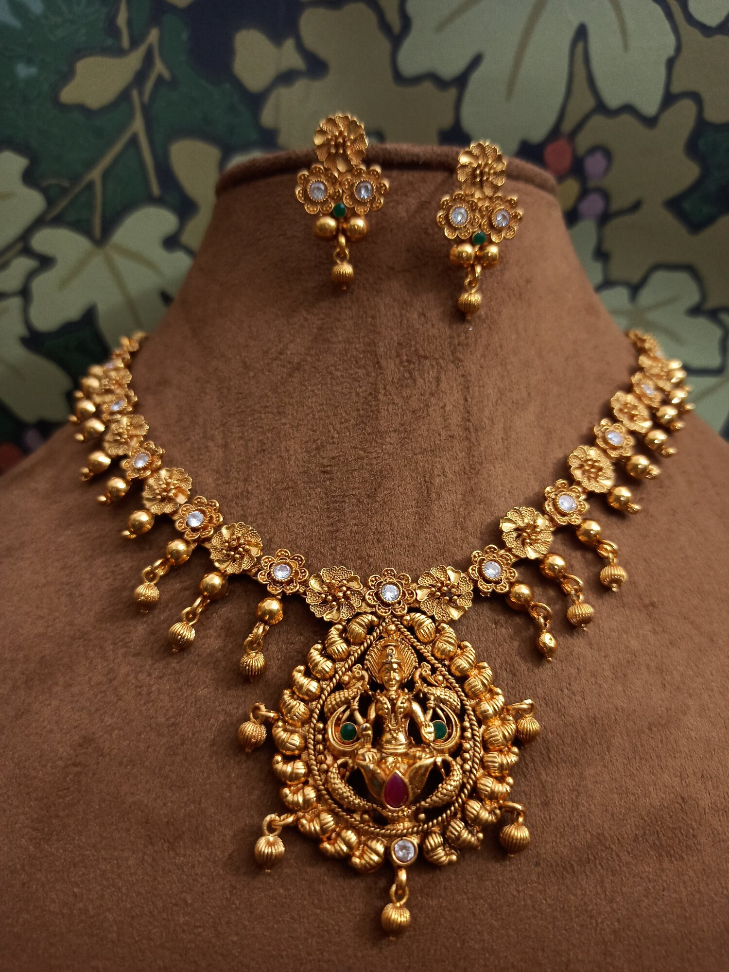 Gold Plated Temple Jewelry