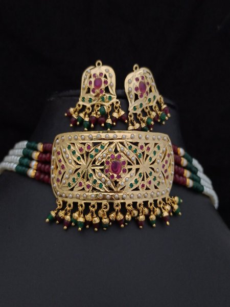 Royal Jadau Choker set